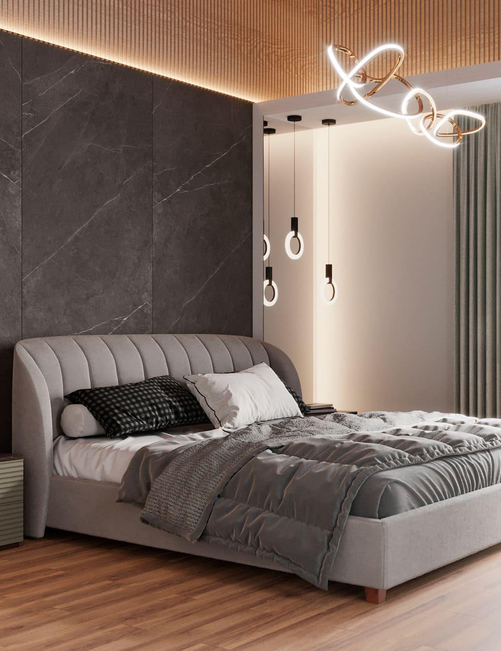 спальня в современном стиле фото 30
