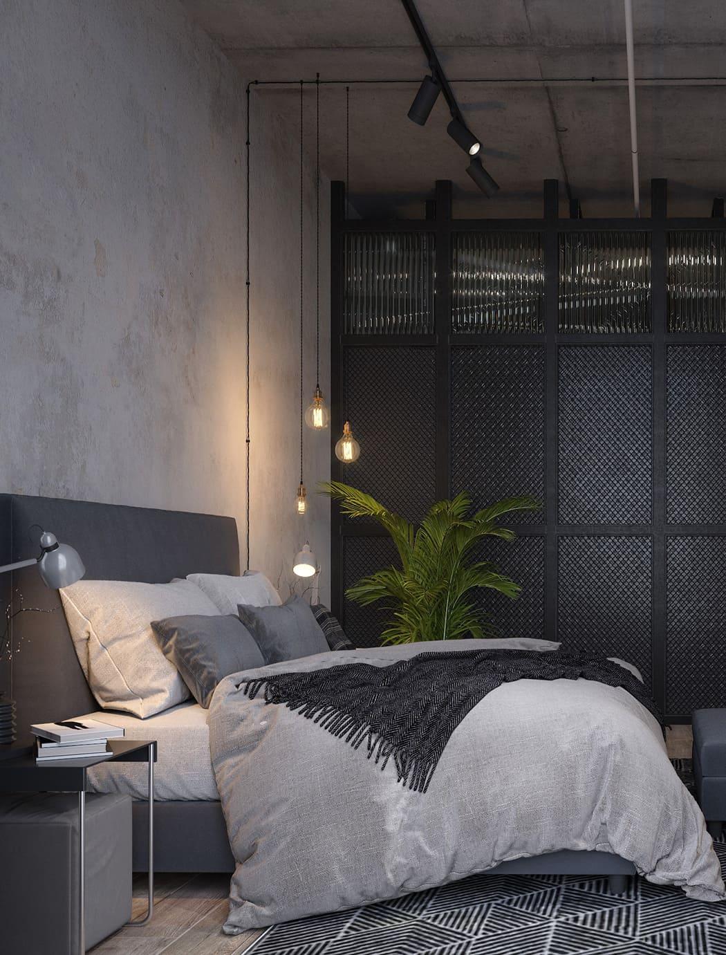 спальня в современном стиле фото 57