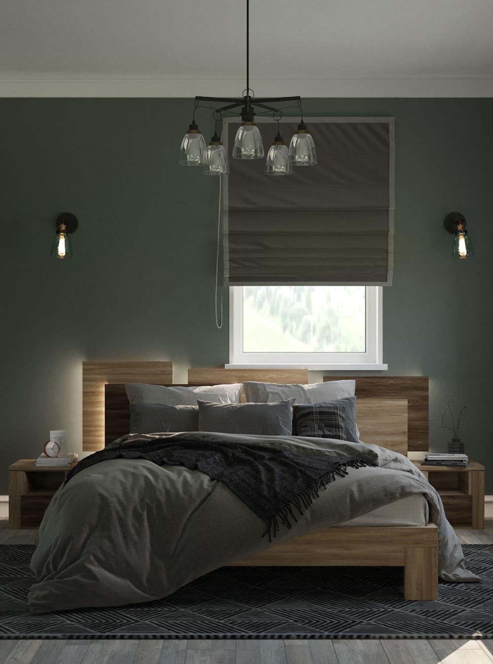 спальня в современном стиле фото 72