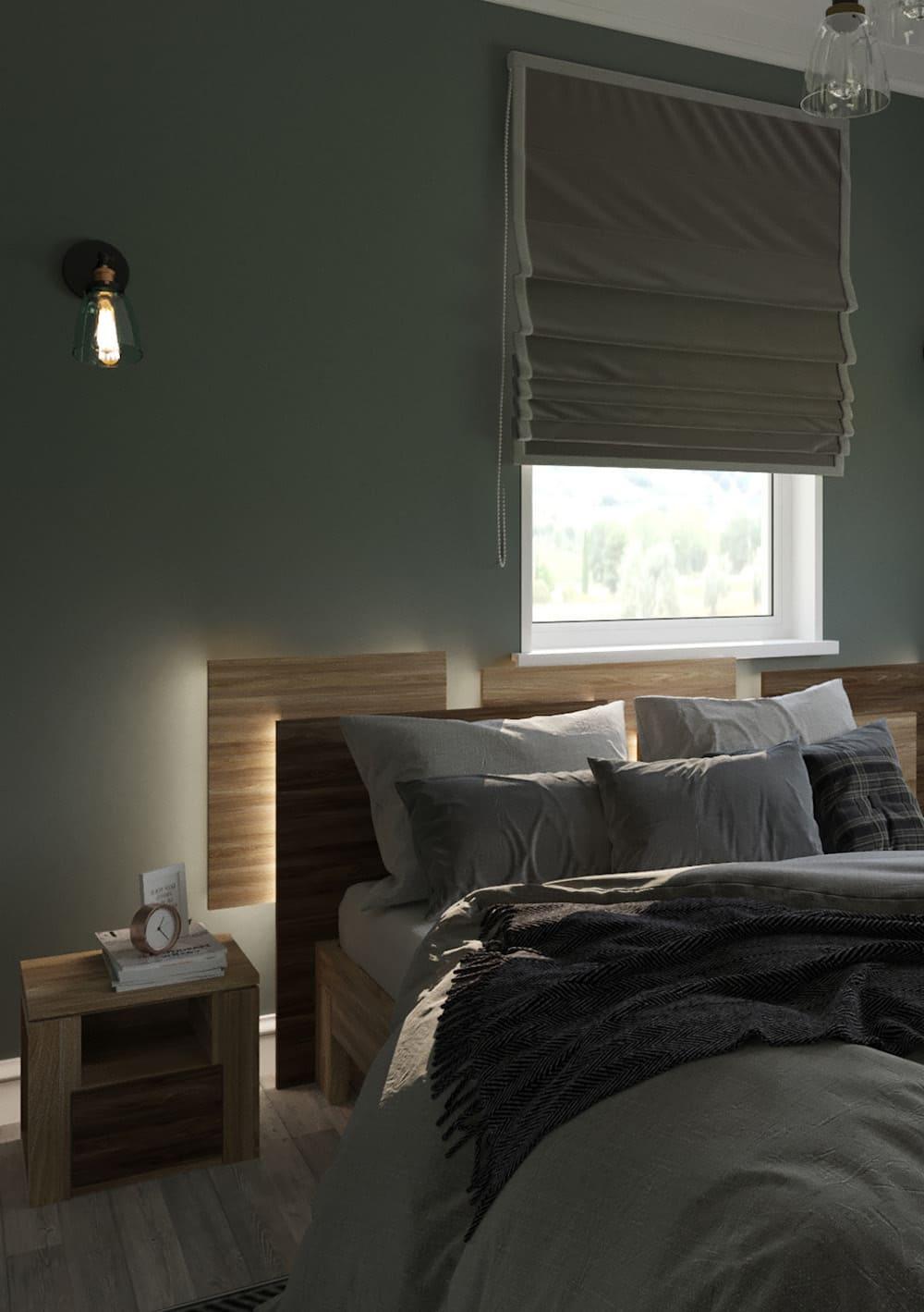 спальня в современном стиле фото 73