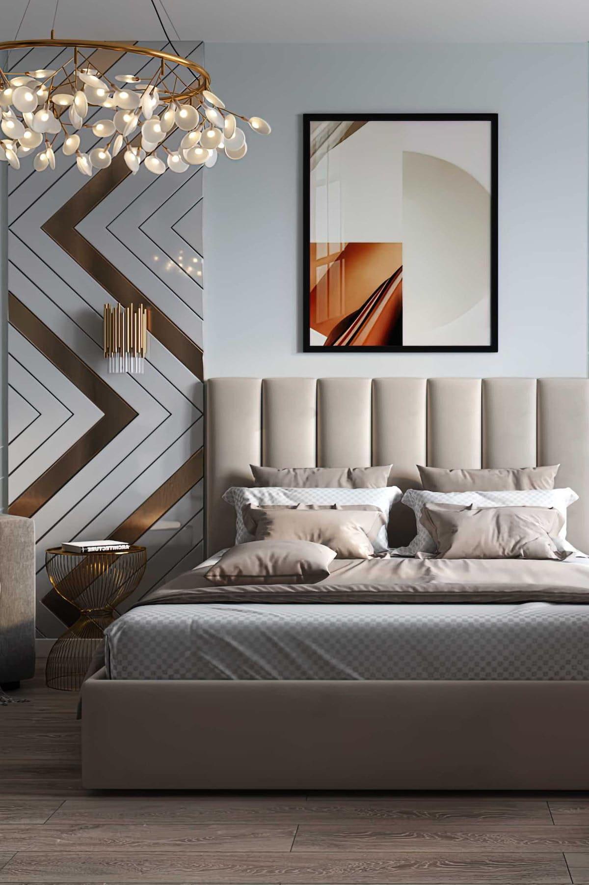 спальня в современном стиле фото 32