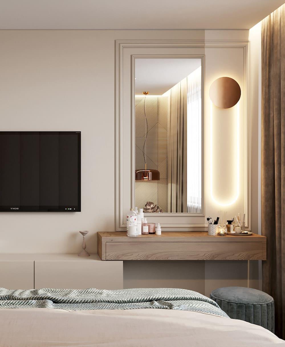 спальня в современном стиле фото 20