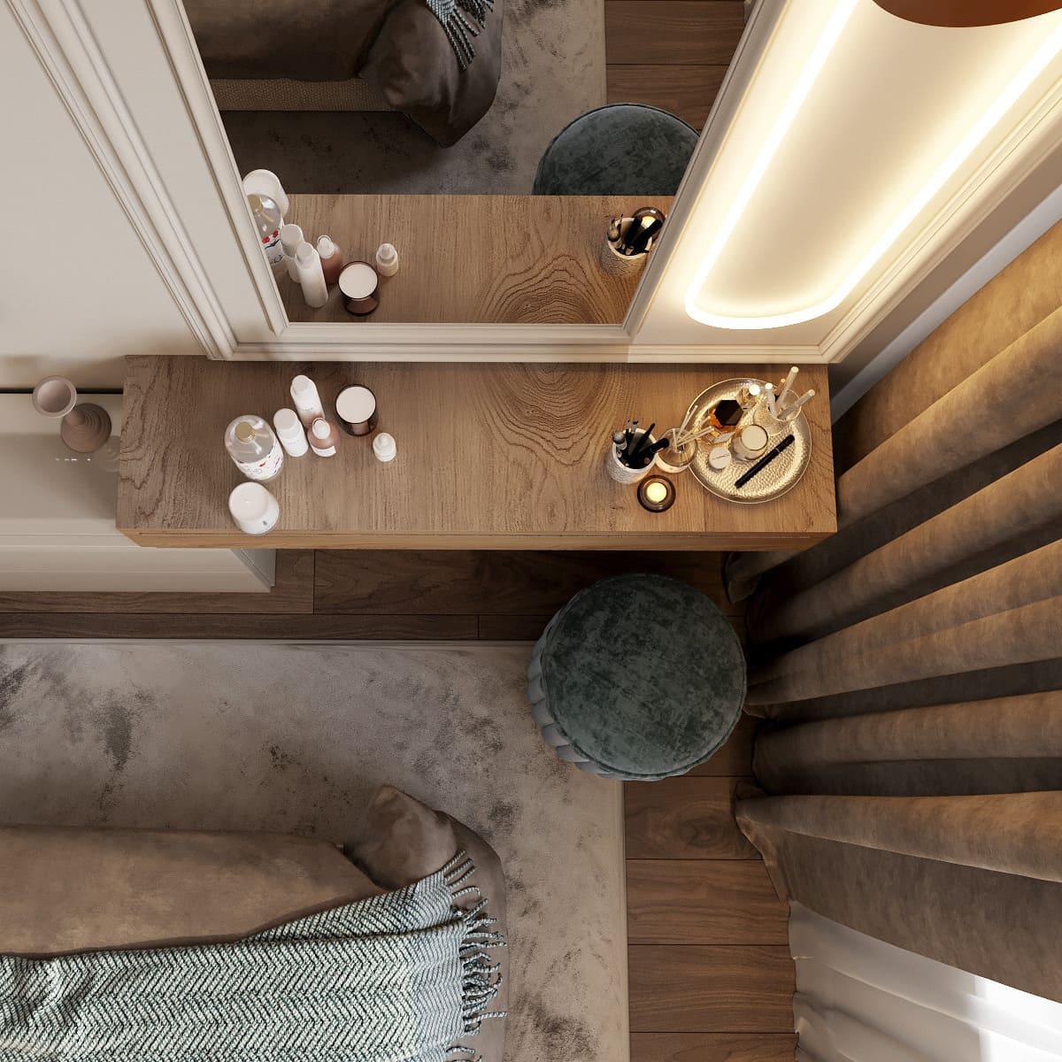 спальня в современном стиле фото 21