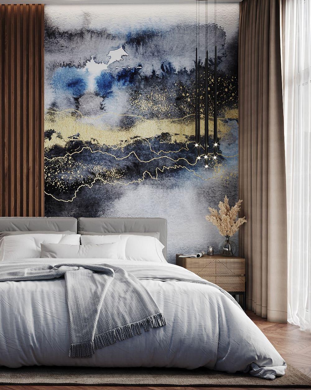 спальня в современном стиле фото 10