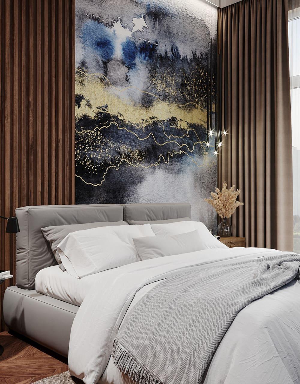 спальня в современном стиле фото 11