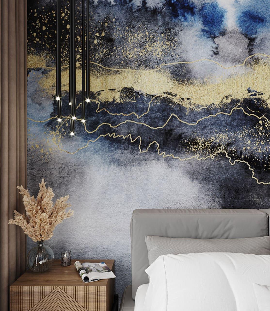 спальня в современном стиле фото 12