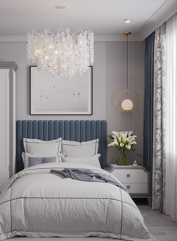 спальня в современном стиле фото 59
