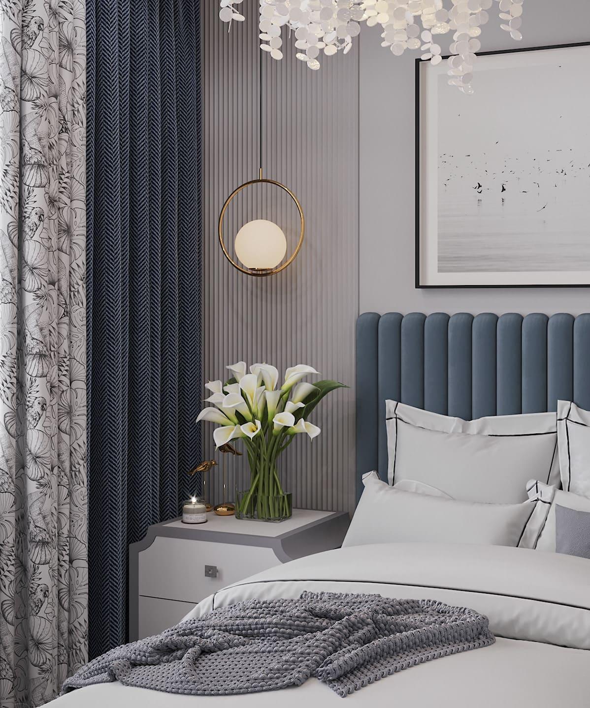 спальня в современном стиле фото 60