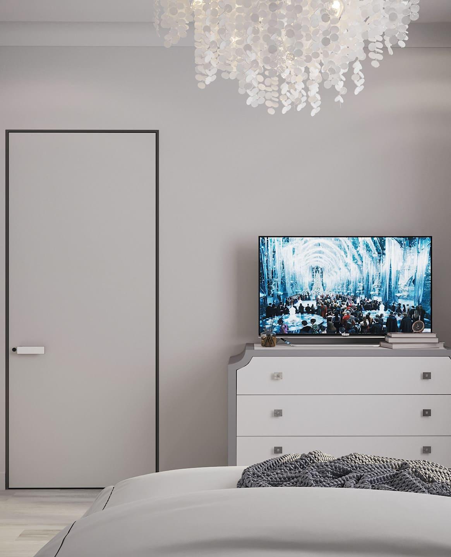 спальня в современном стиле фото 61