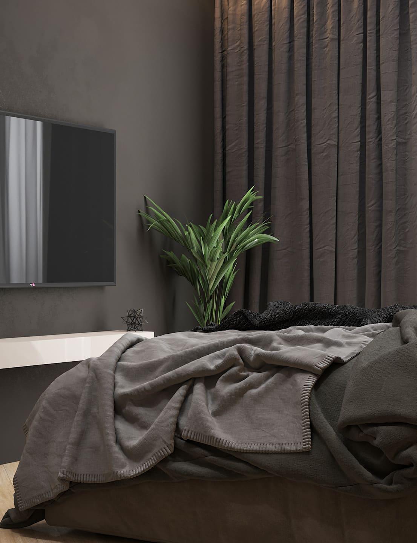 спальня в современном стиле фото 52