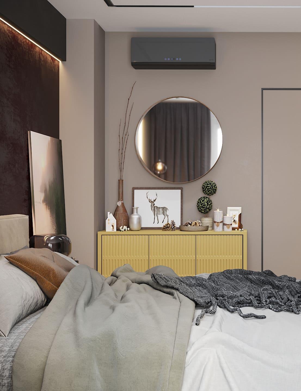 спальня в современном стиле фото 54