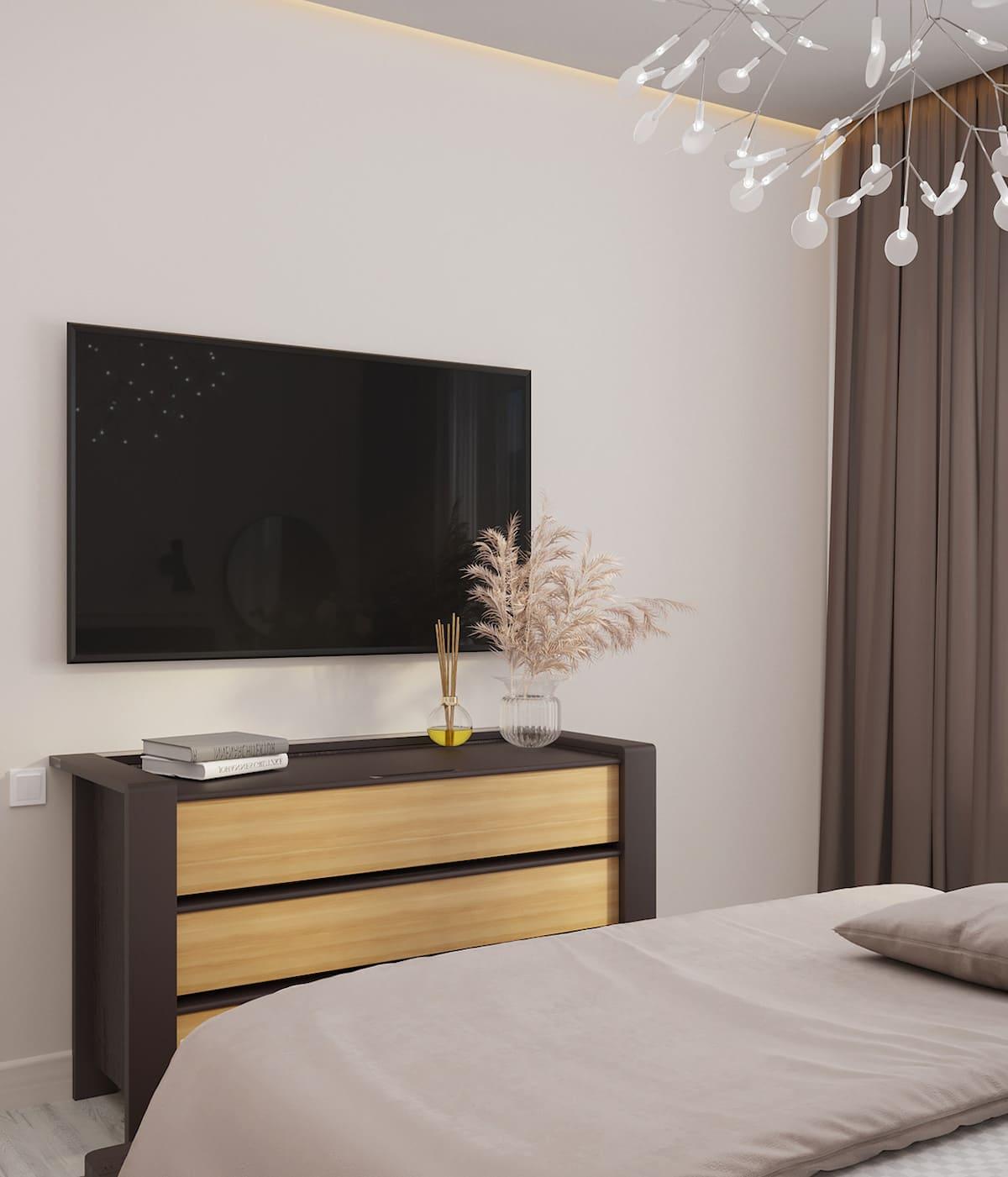 спальня в современном стиле фото 26