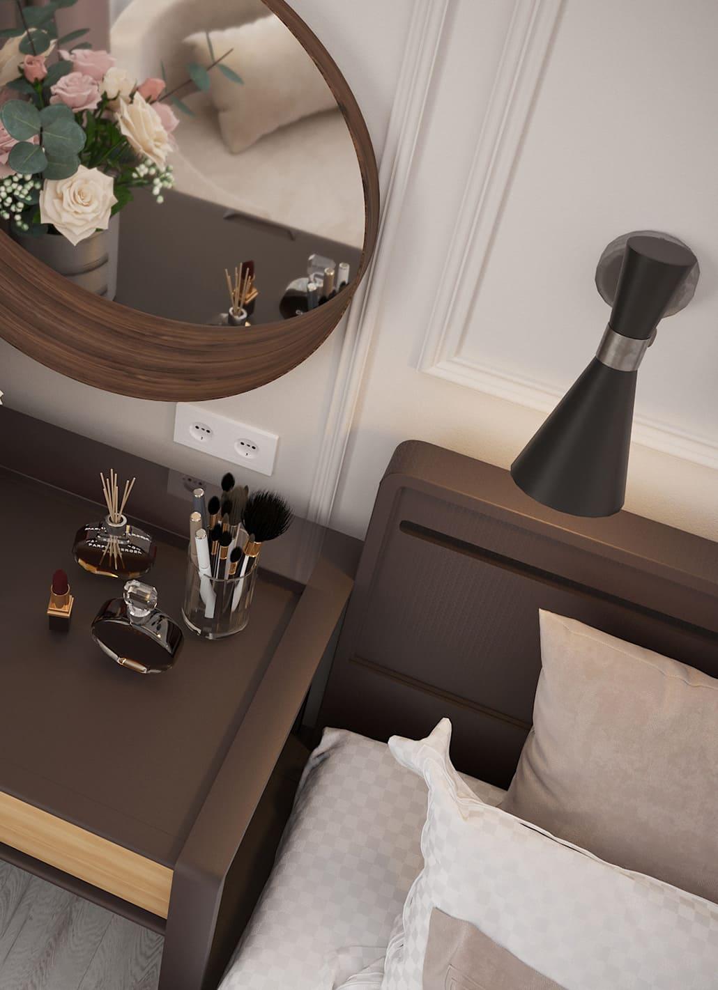 спальня в современном стиле фото 27