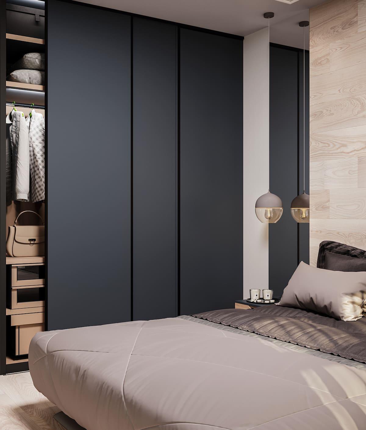 спальня в современном стиле фото 83