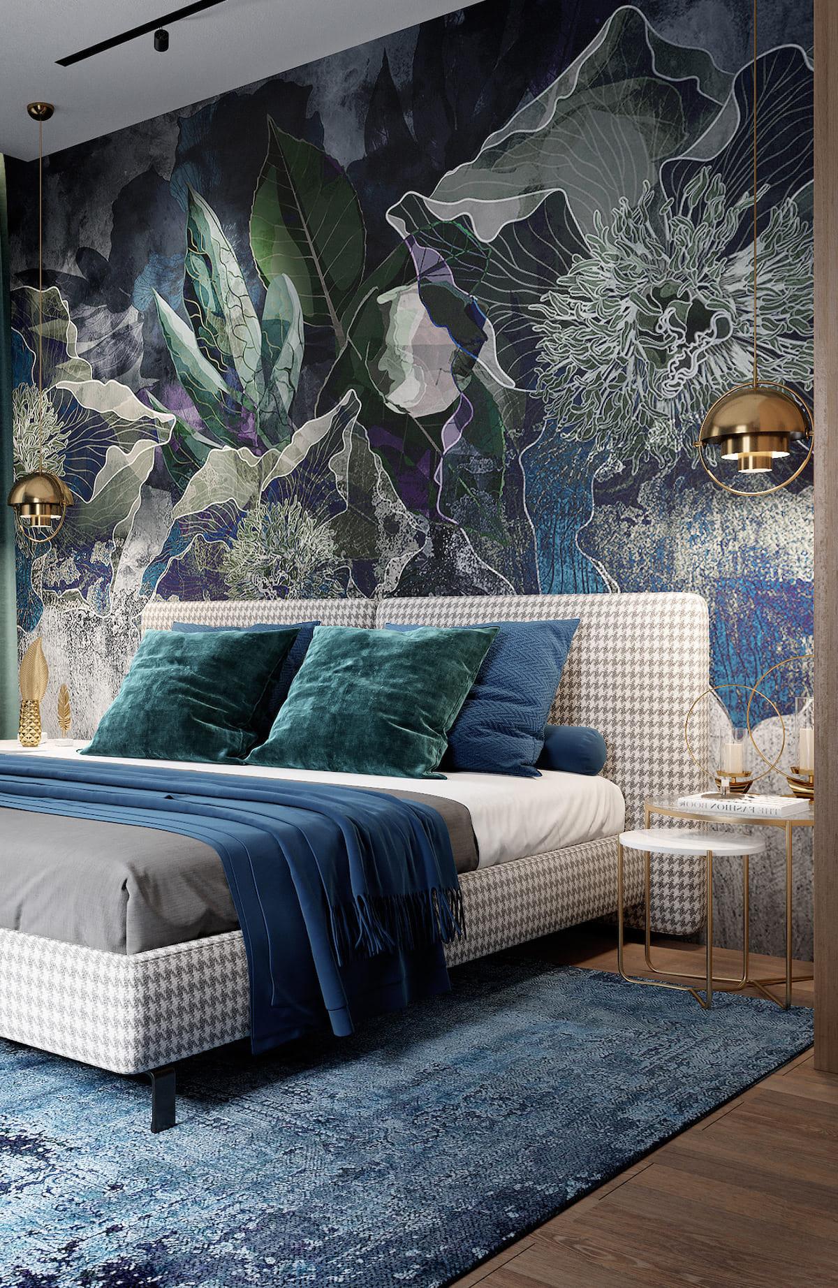 спальня в современном стиле фото 8