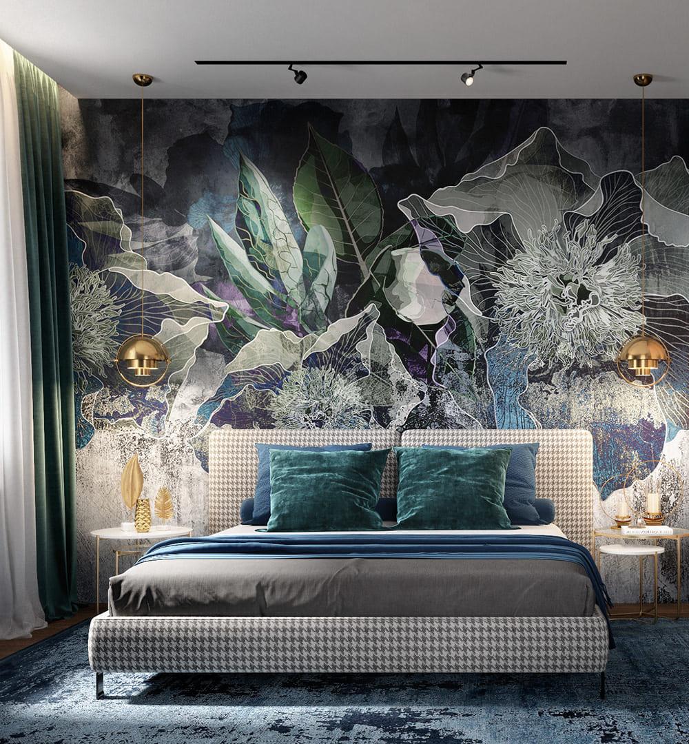спальня в современном стиле фото 9