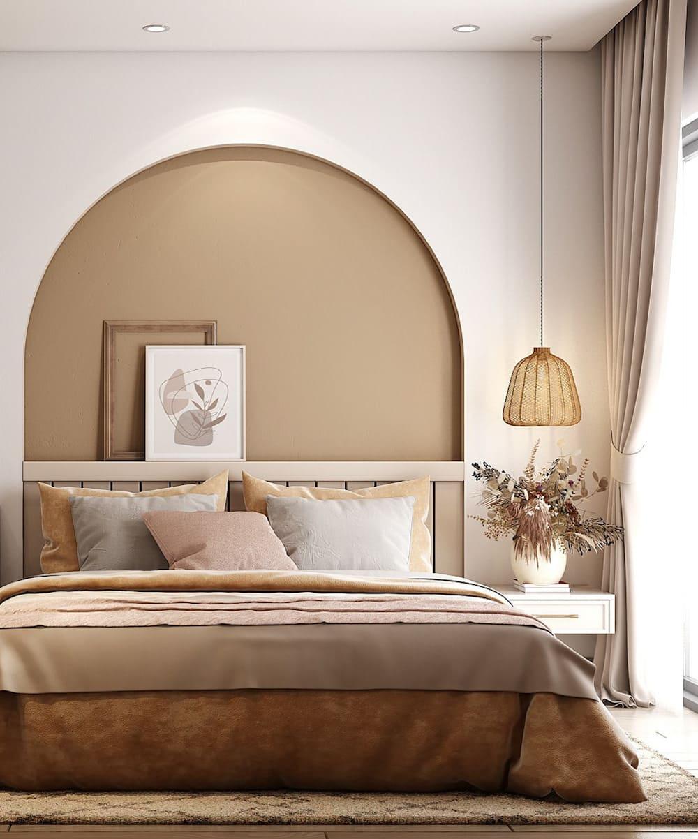 спальня в современном стиле фото 37