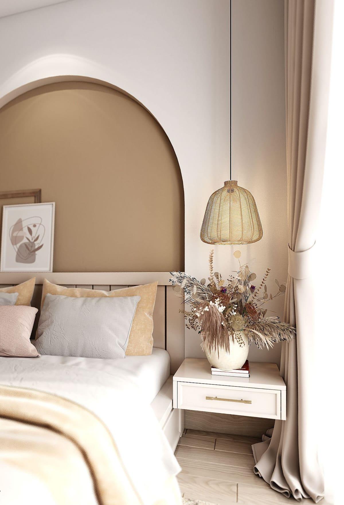 спальня в современном стиле фото 38