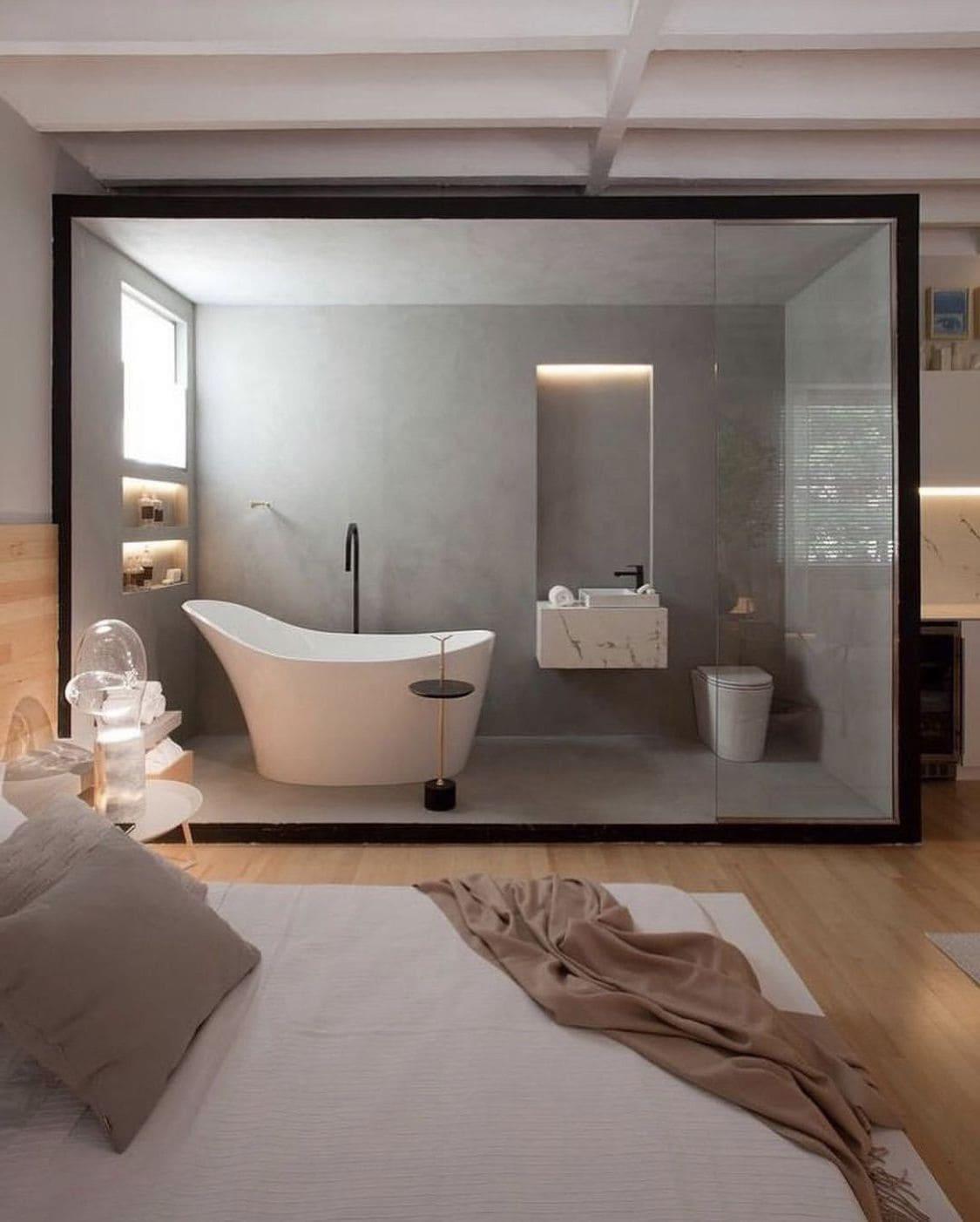 спальня в современном стиле фото 2