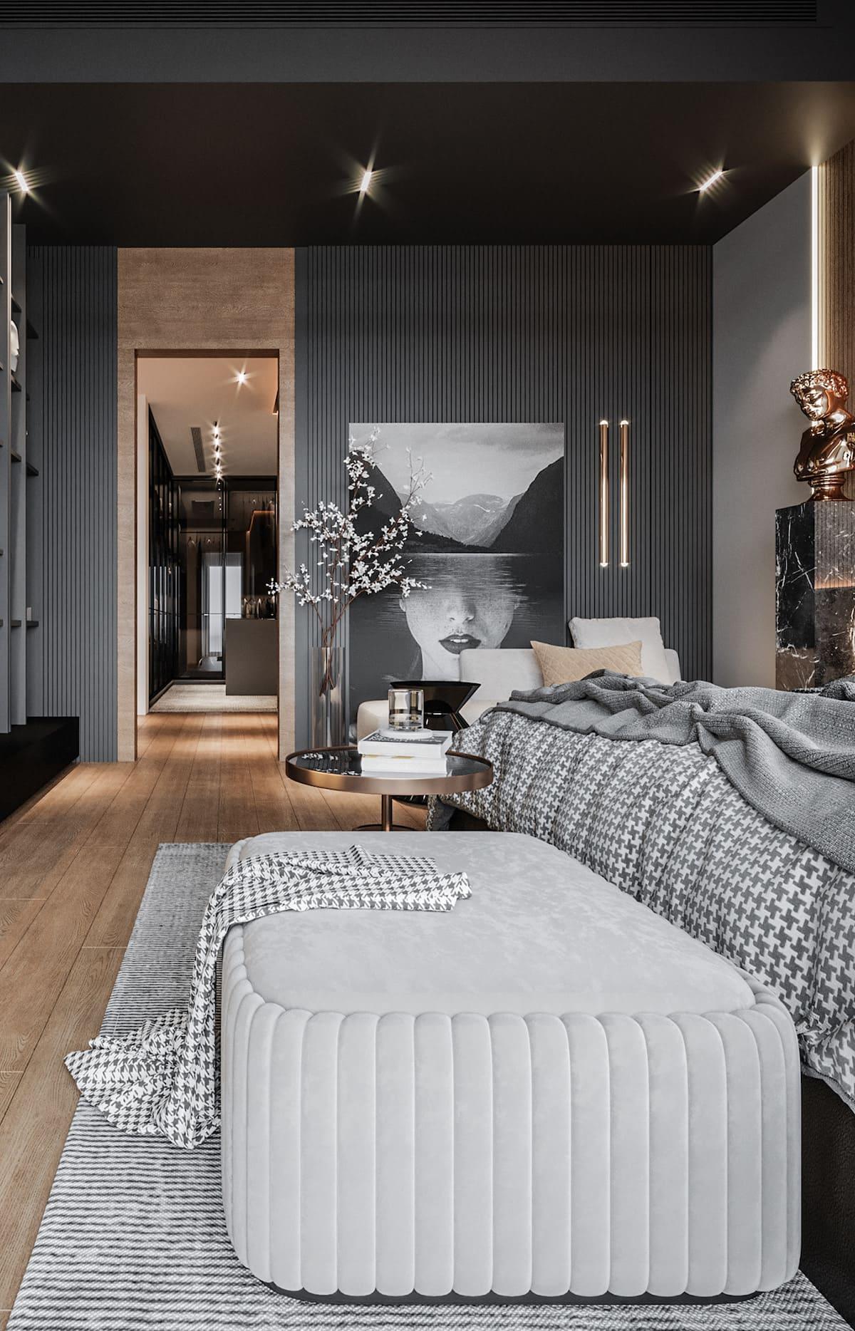 спальня в современном стиле фото 50