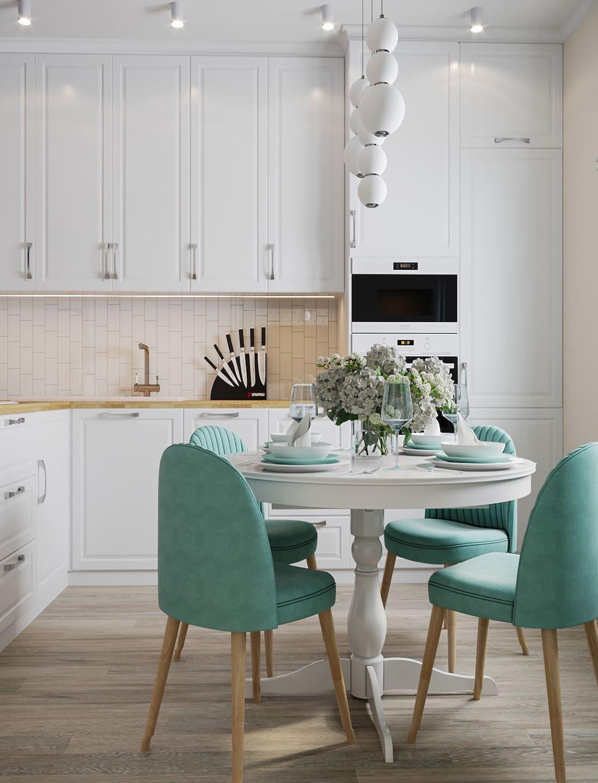 дизайн кухни в современном стиле фото 22