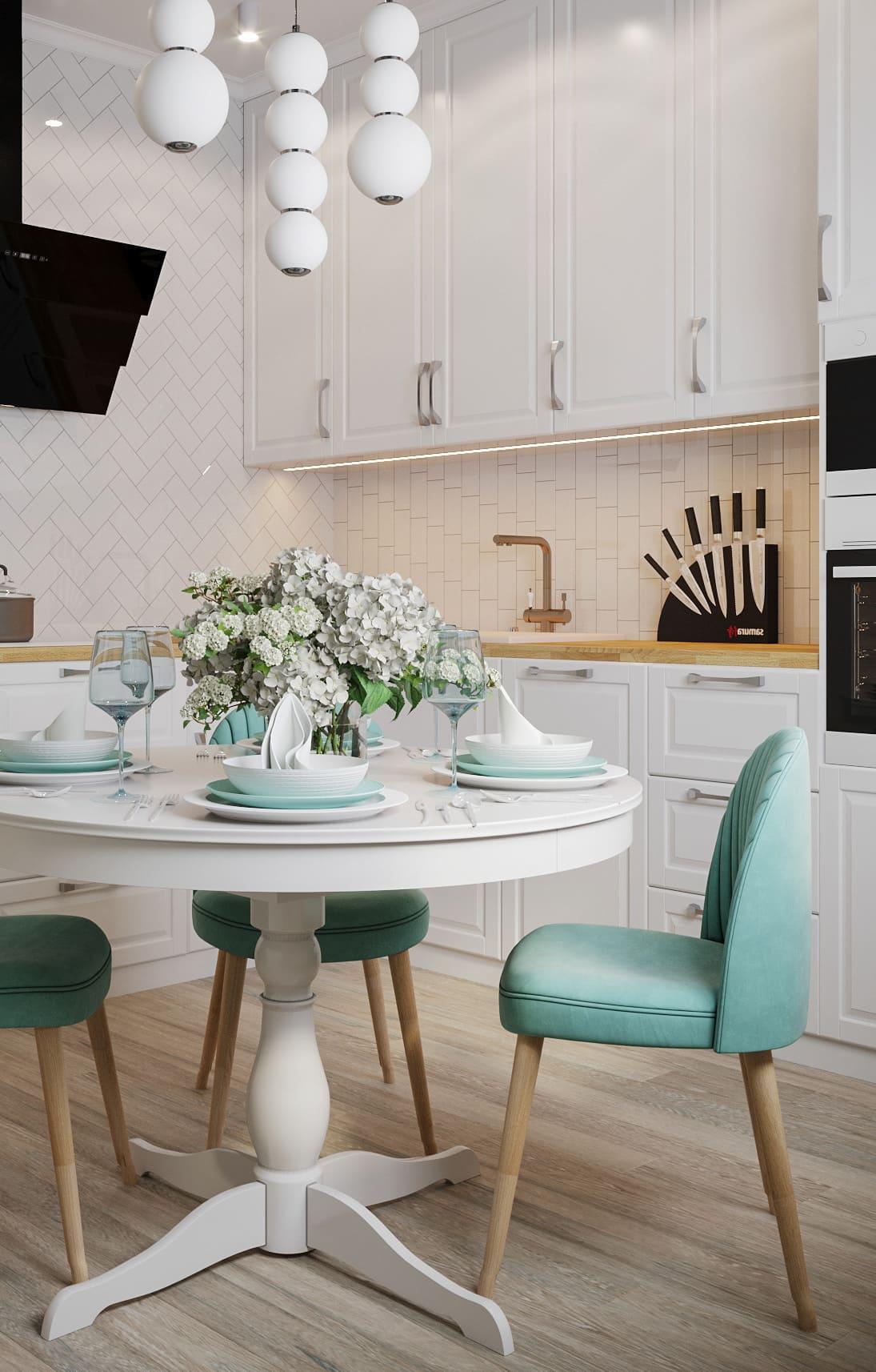 дизайн кухни в современном стиле фото 24