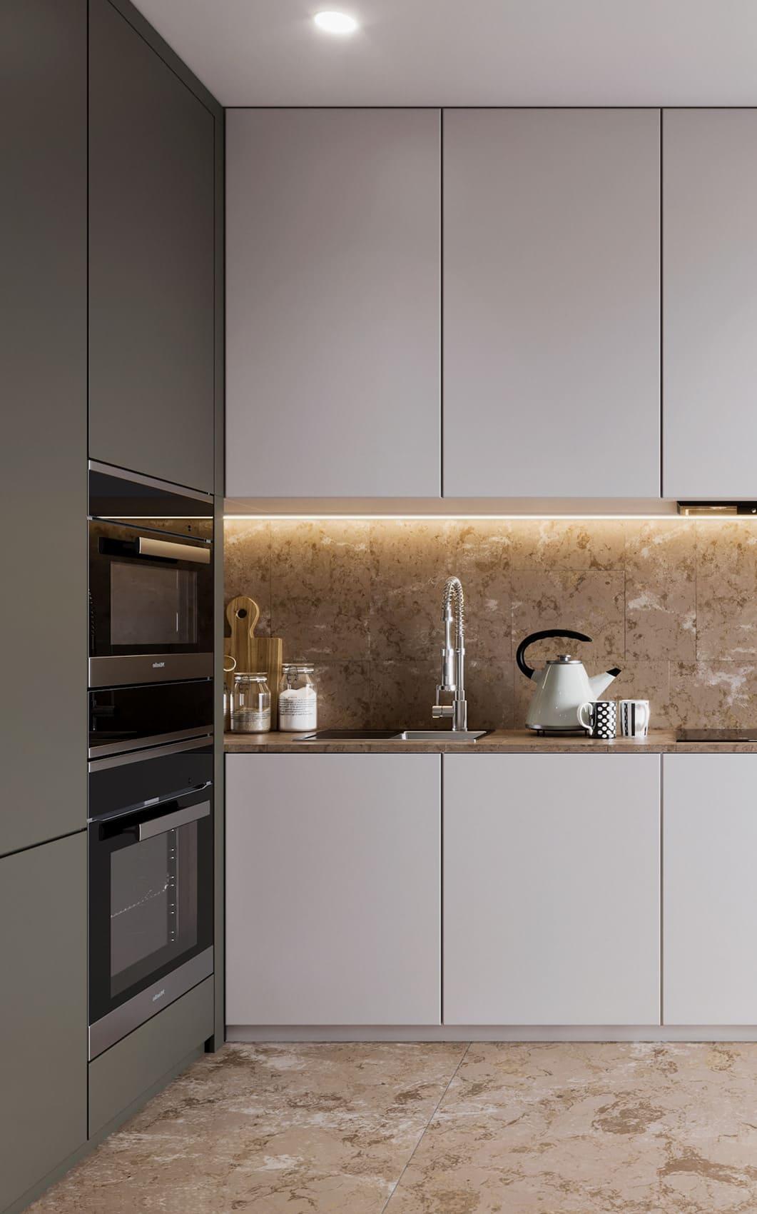 дизайн кухни в современном стиле фото 56