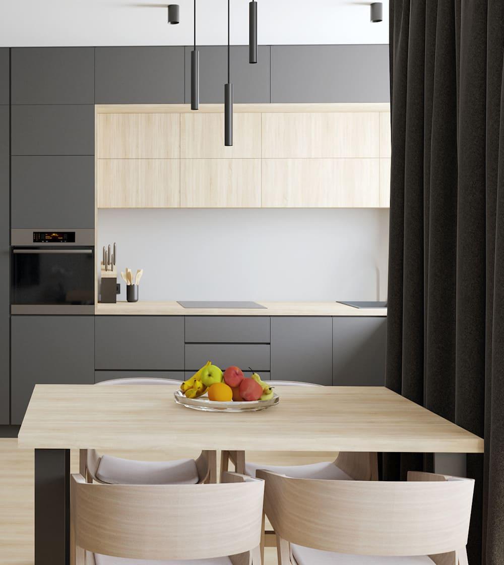 дизайн кухни в современном стиле фото 67
