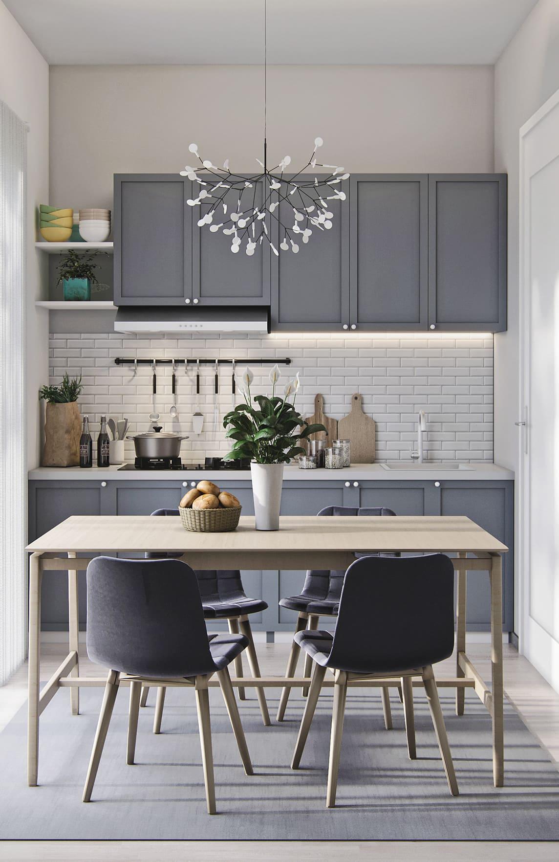 дизайн кухни в современном стиле фото 45