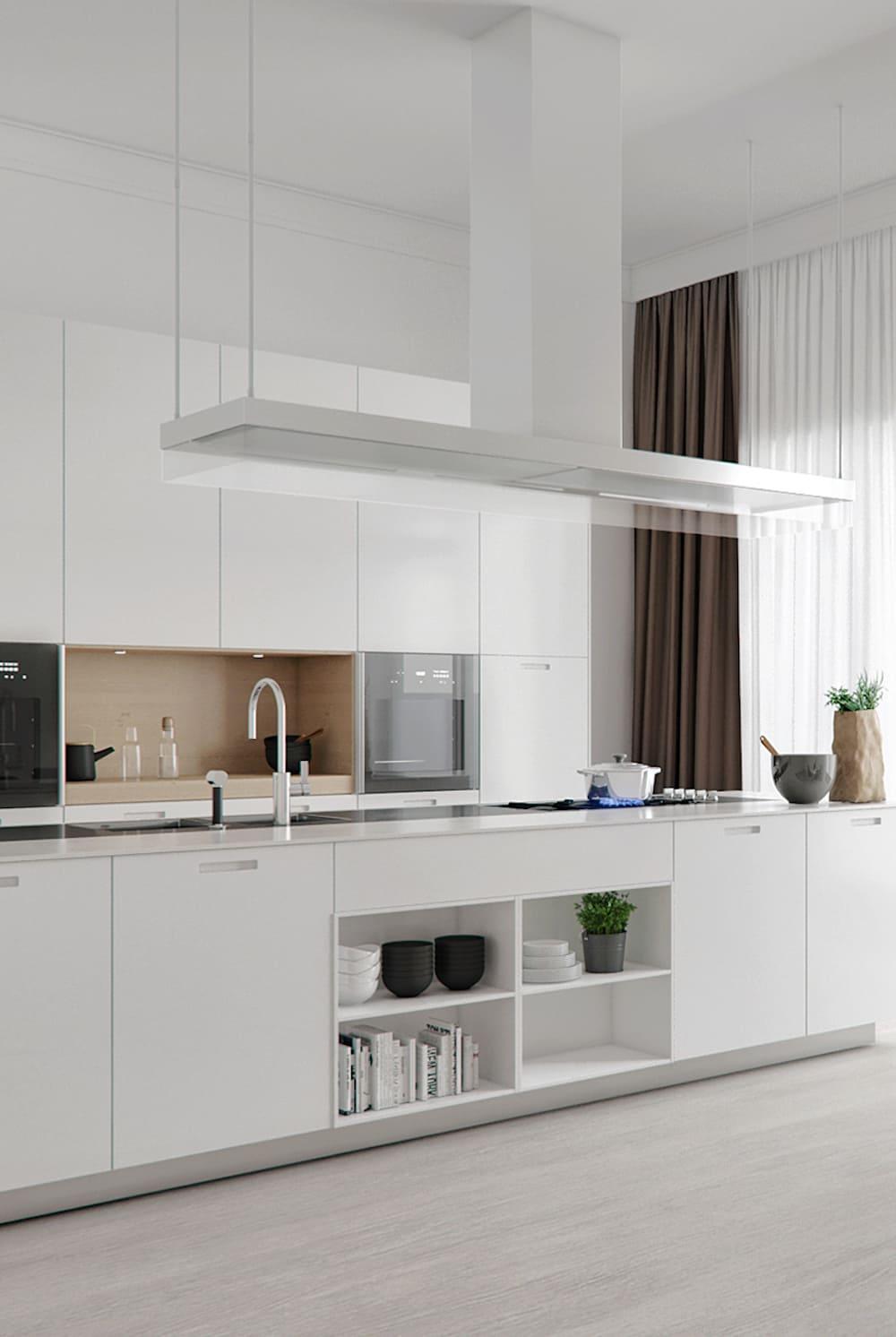 дизайн кухни в современном стиле фото 87