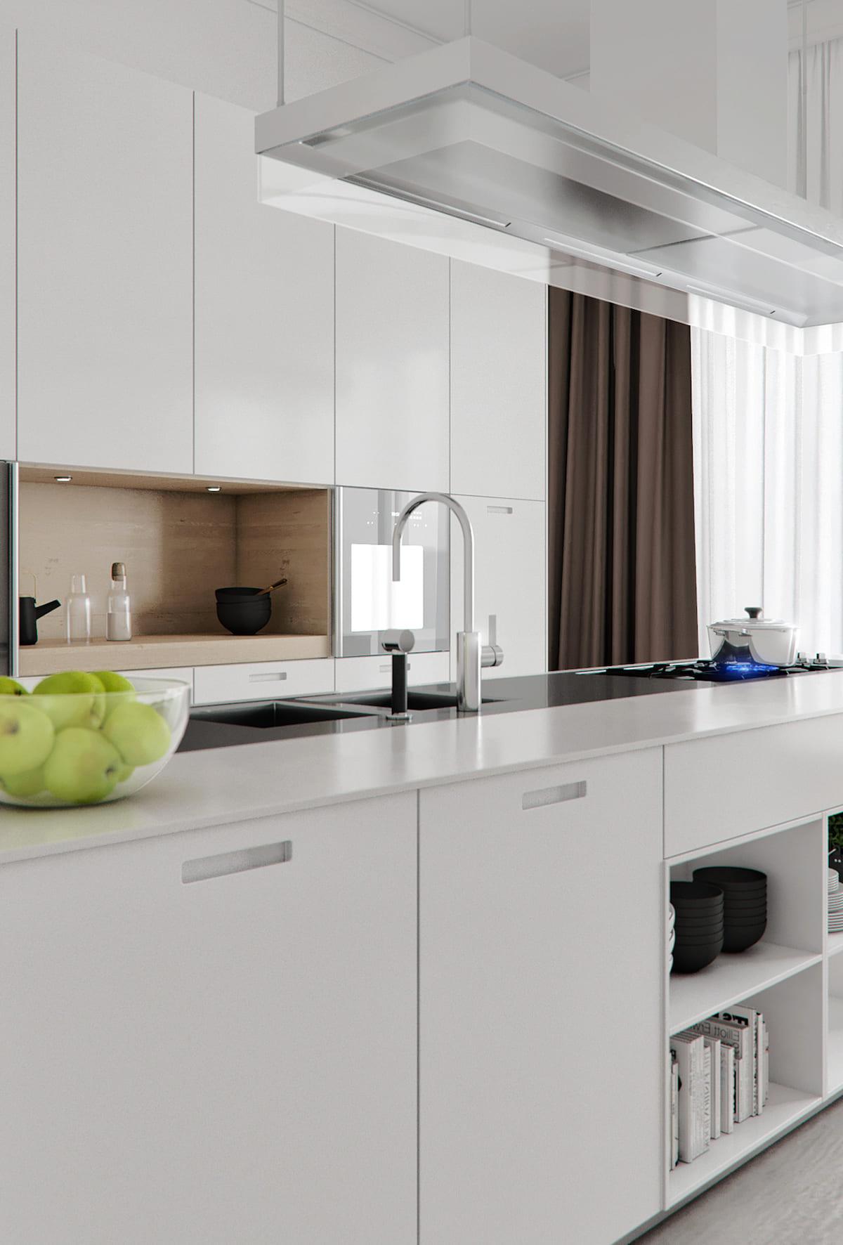дизайн кухни в современном стиле фото 88