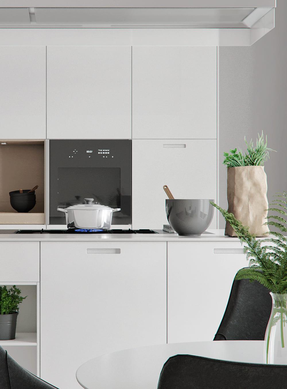 дизайн кухни в современном стиле фото 89