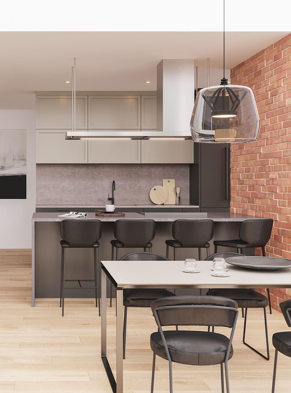 дизайн кухни в современном стиле фото 94
