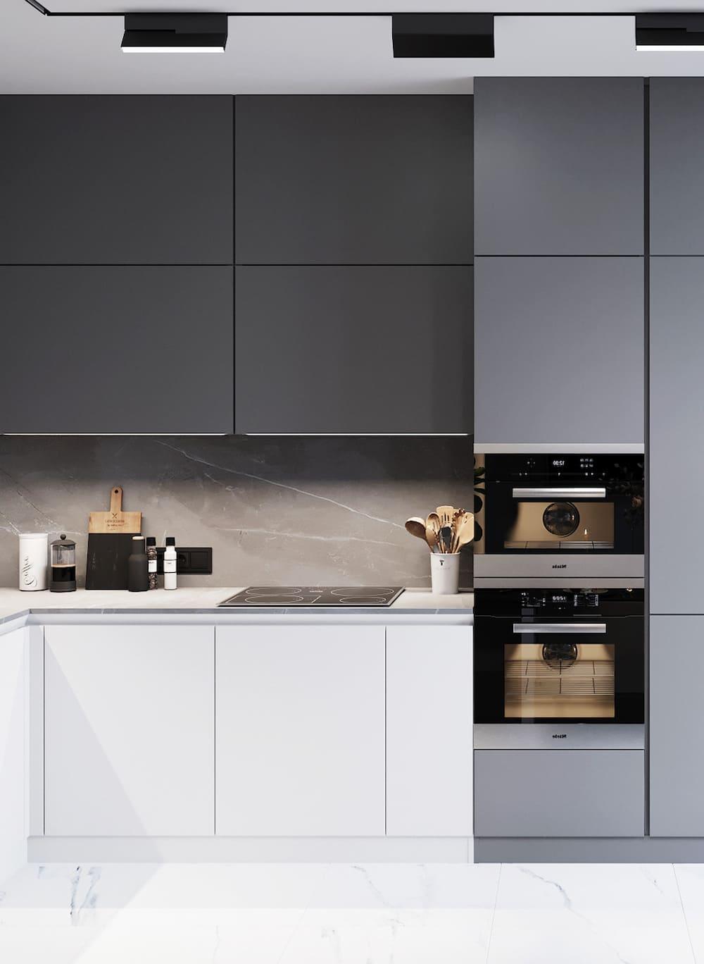 дизайн кухни в современном стиле фото 50