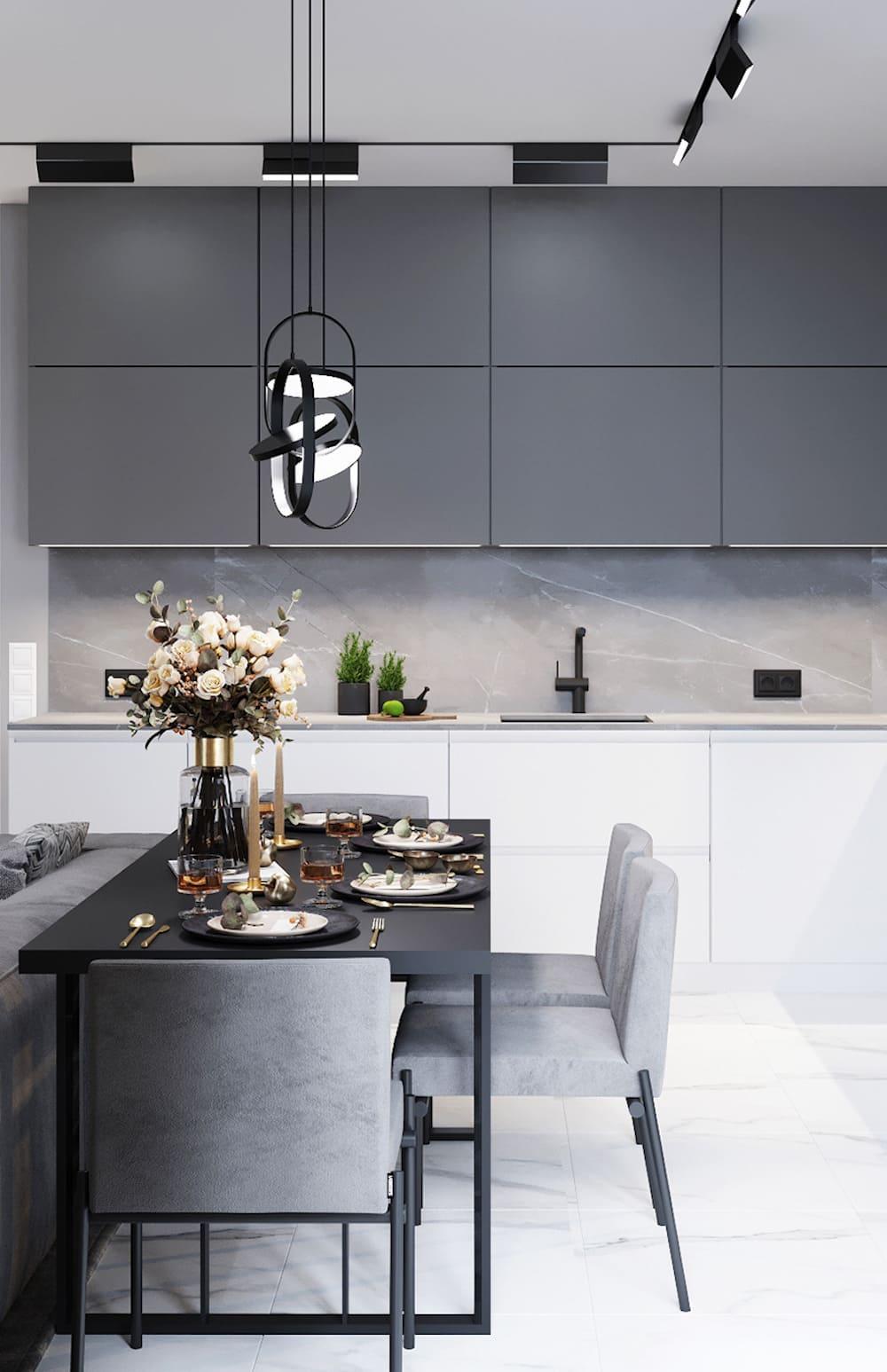 дизайн кухни в современном стиле фото 51