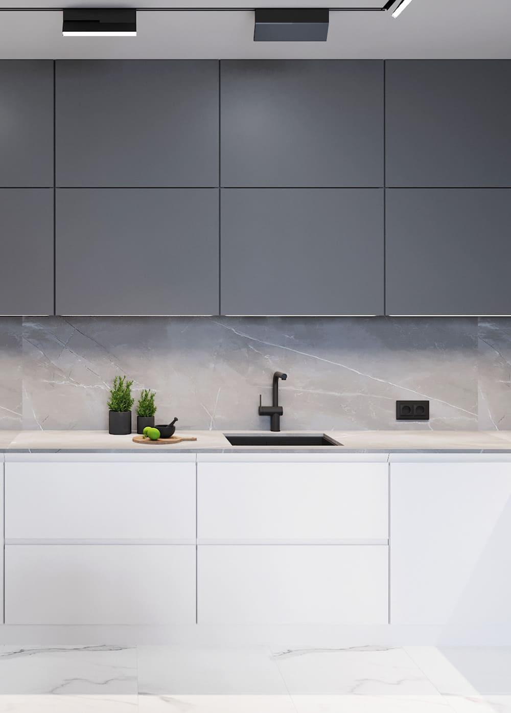 дизайн кухни в современном стиле фото 52