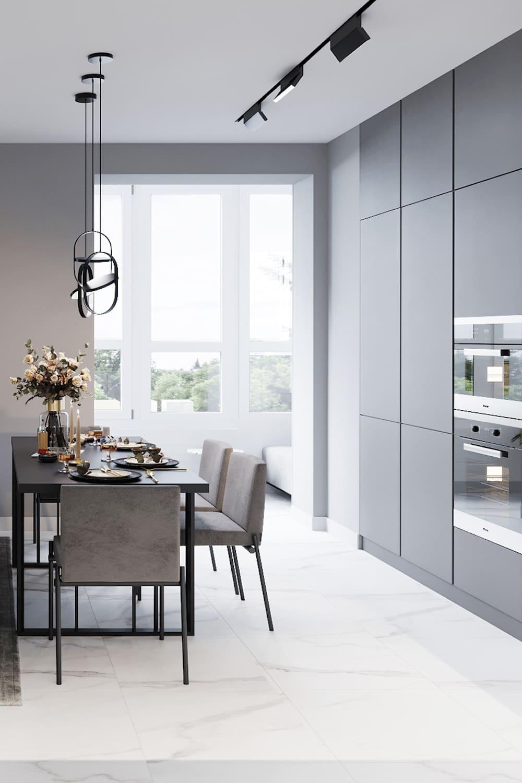 дизайн кухни в современном стиле фото 54