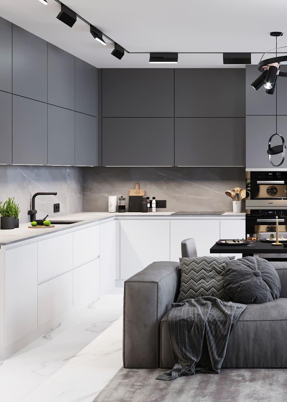 дизайн кухни в современном стиле фото 55