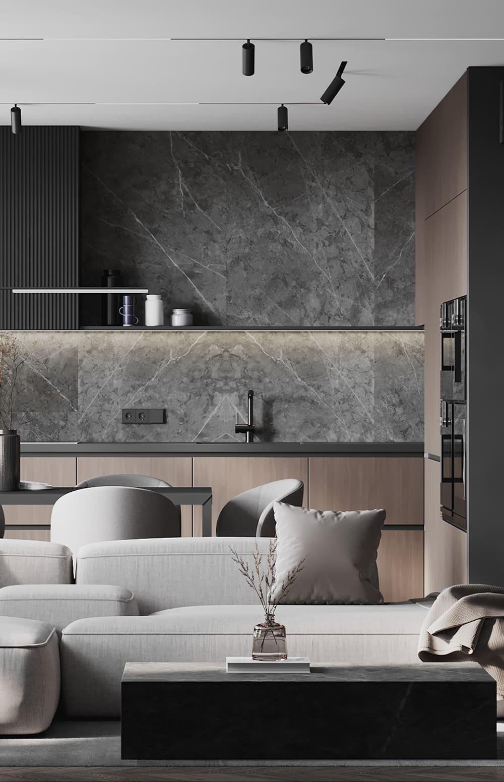 дизайн кухни в современном стиле фото 78