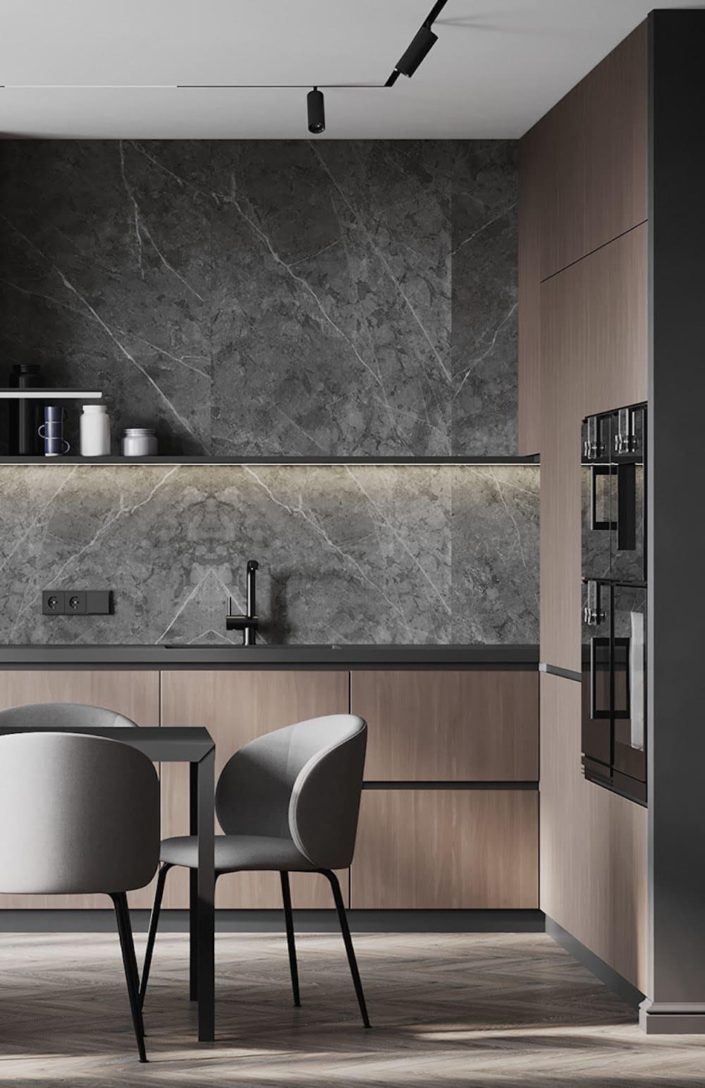 дизайн кухни в современном стиле фото 79