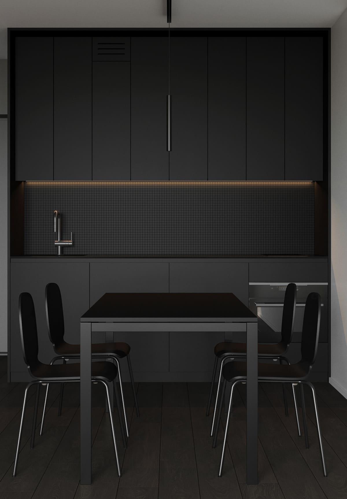 дизайн кухни в современном стиле фото 81