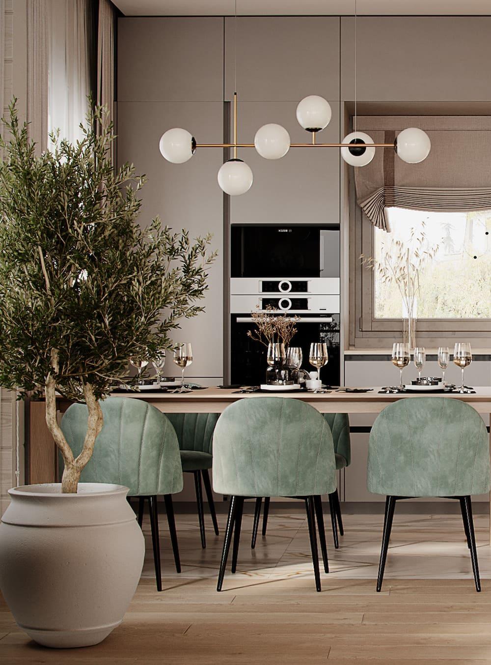 дизайн кухни в современном стиле фото 11