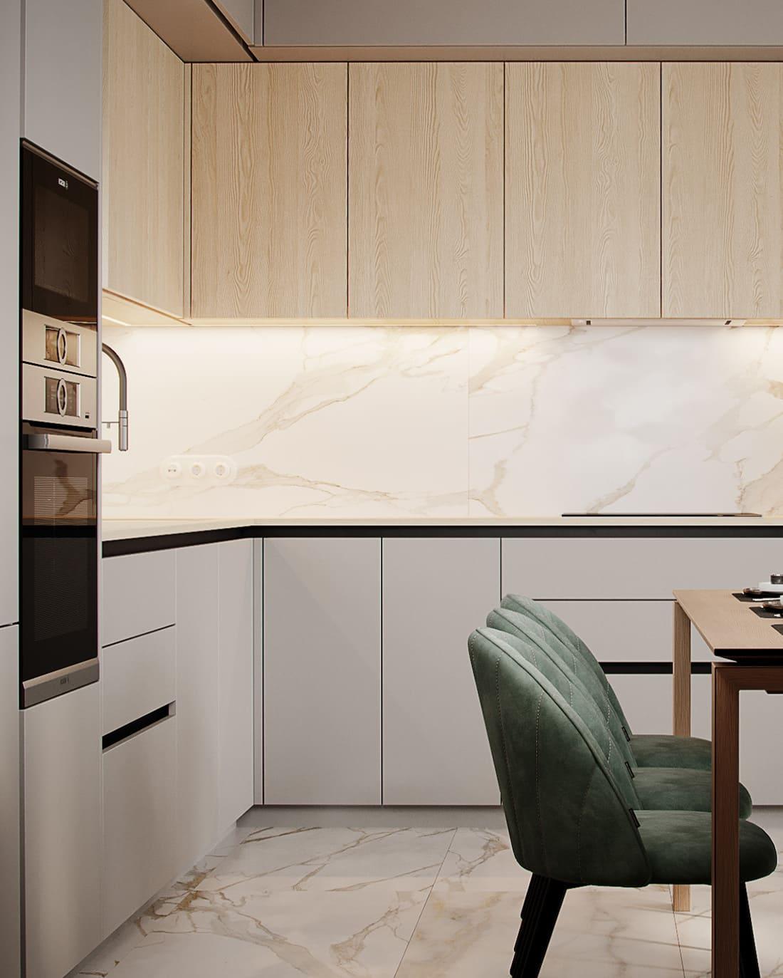 дизайн кухни в современном стиле фото 12
