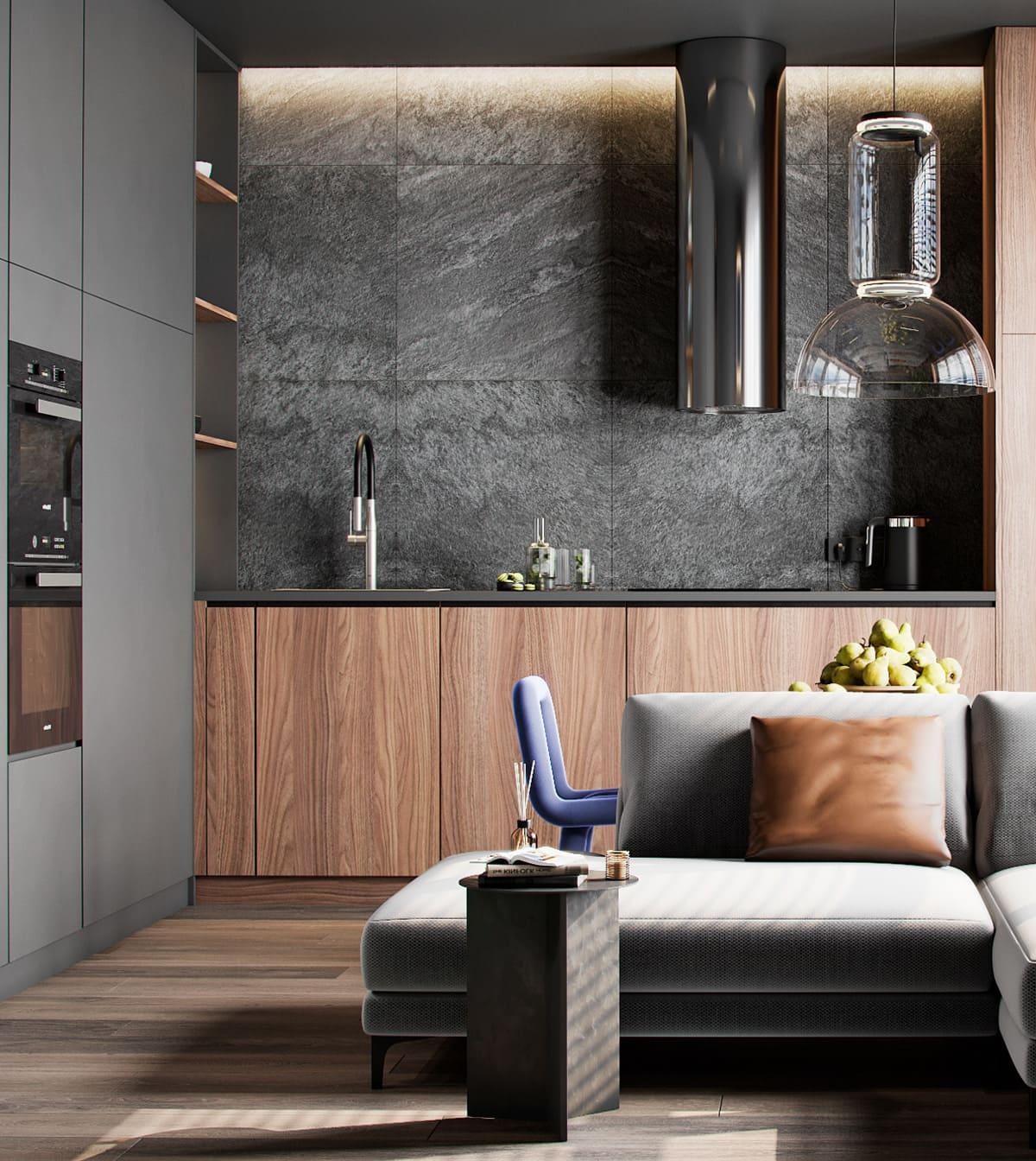 дизайн кухни в современном стиле фото 103