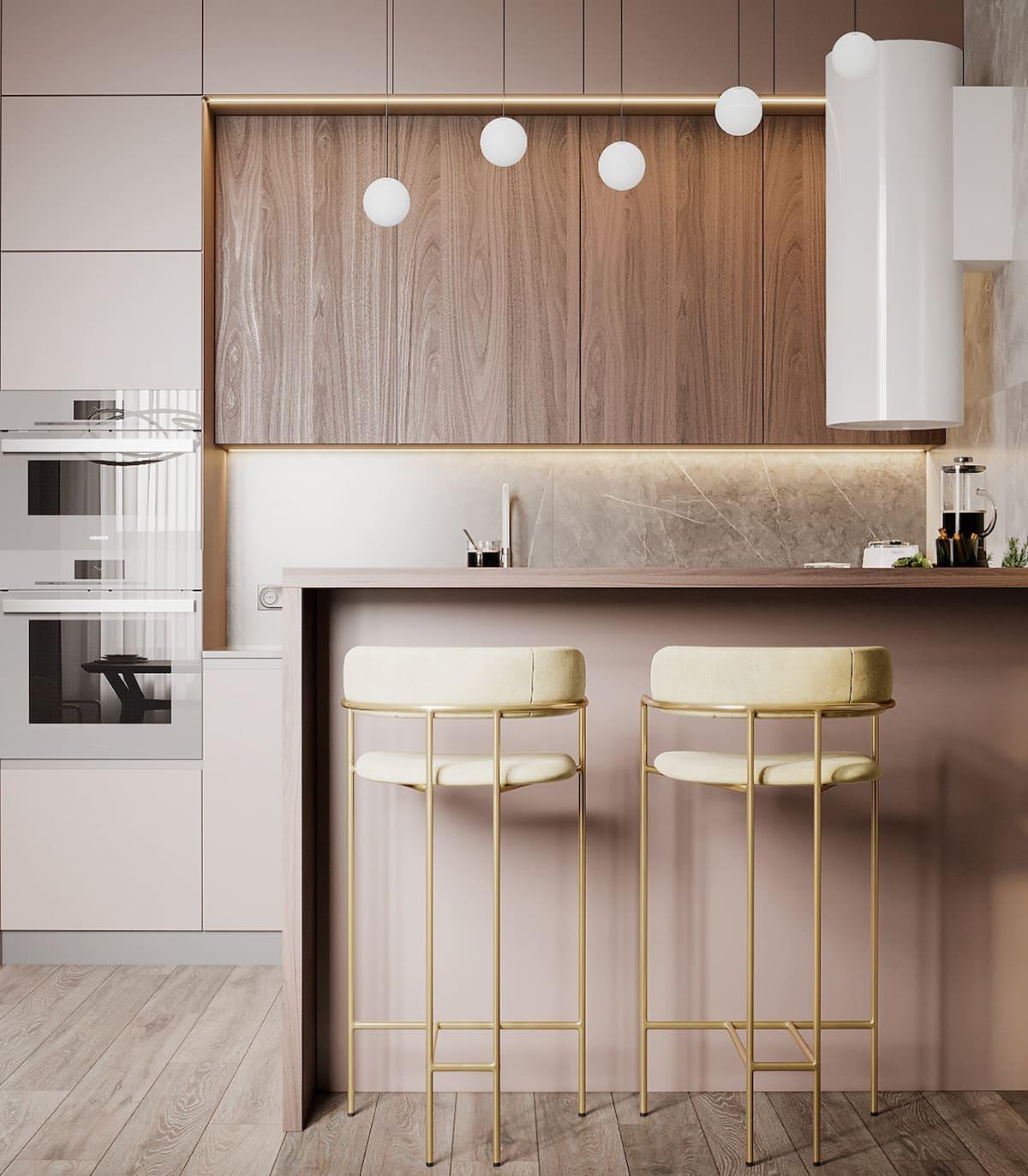 дизайн кухни в современном стиле фото 17
