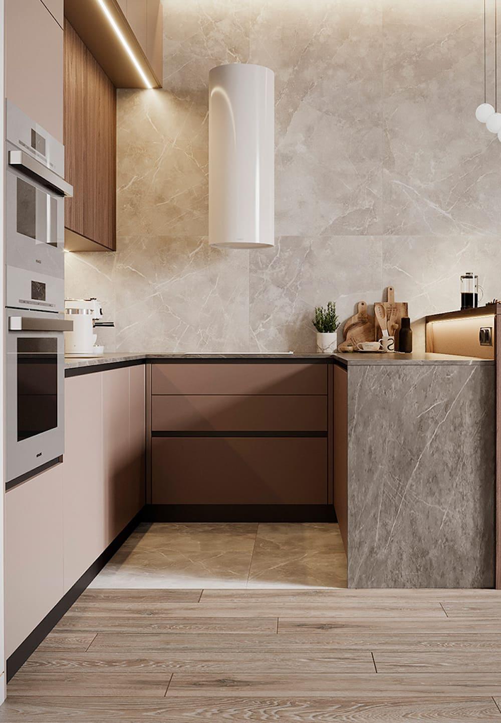 дизайн кухни в современном стиле фото 18