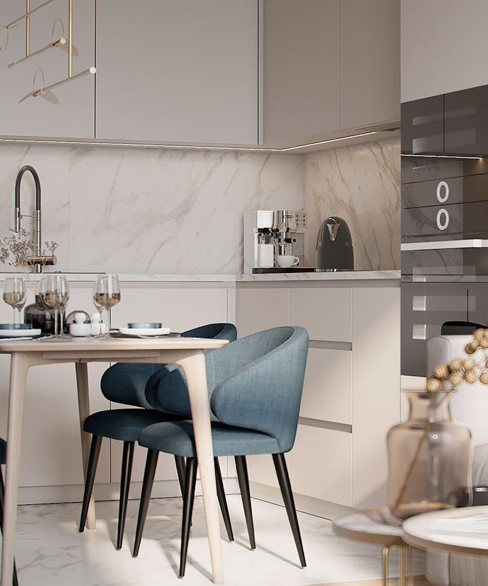 дизайн кухни в современном стиле фото 15