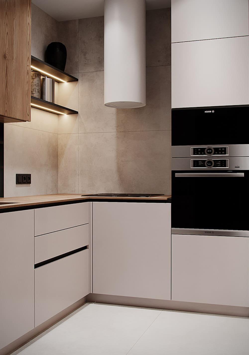 дизайн кухни в современном стиле фото 68