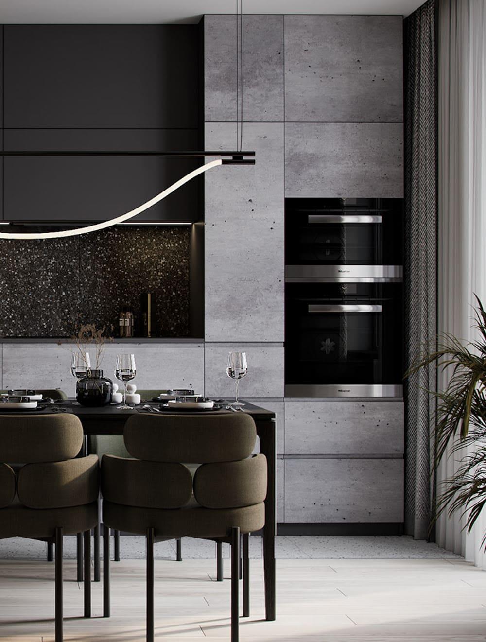 дизайн кухни в современном стиле фото 101