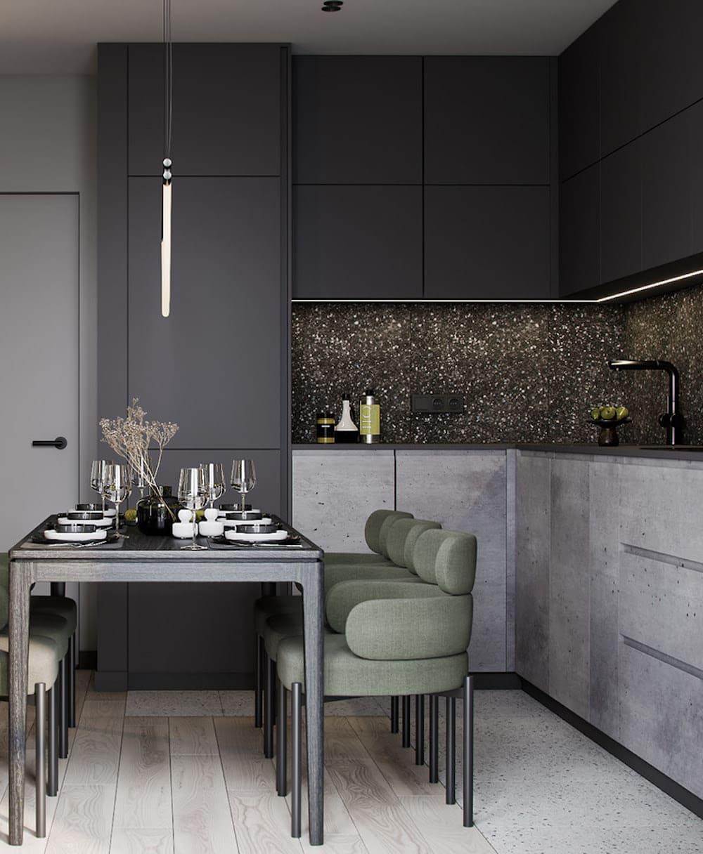 дизайн кухни в современном стиле фото 102